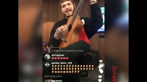 Post Malone sings country song live - YouTube