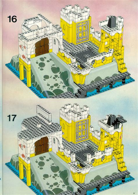 LEGO Eldorado Fortress Instructions 6276, Pirates