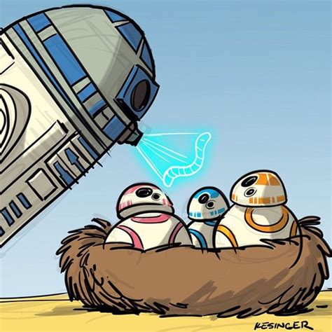 Beautiful Calvin And Hobbes Style Star Wars Characters
