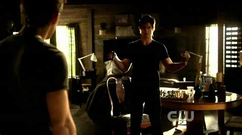 Damon Salvatore you look better when I'm drunk! - YouTube