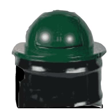 55 Gallon Heavy Metal Dome Top Drum Covers-Green