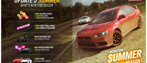 Summer arrives in Forza Horizon 4 with new cars up for