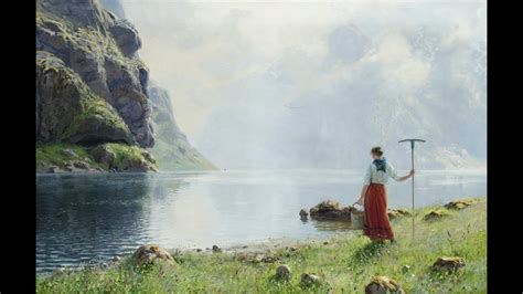 Art: Hans Dahl, Norwegian painter (1849-1937) ~ Edward
