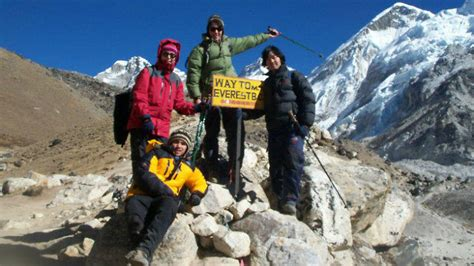 'What we're doing is crazy': How Sherpas helped me survive