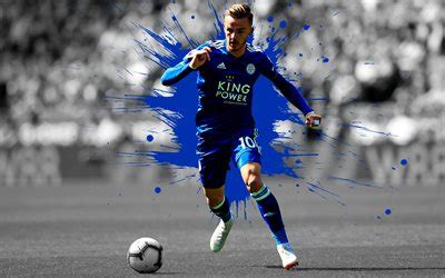 Download wallpapers James Maddison, 4k, art, Leicester