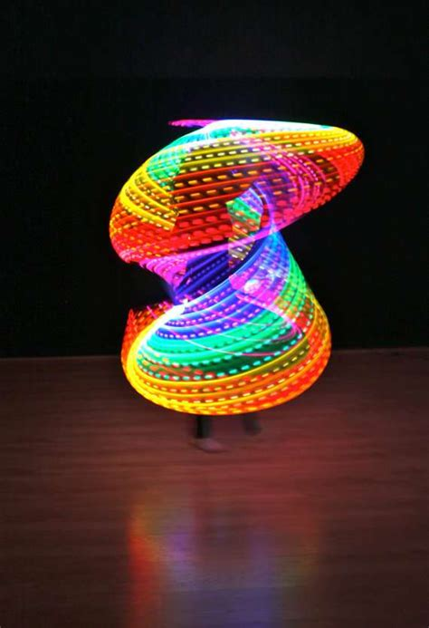Rave-Ready Neon Toys : rechargeable double rainbow led