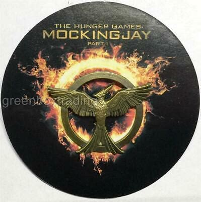 The hunger games Mockingjay part 1 RARE high quality pin