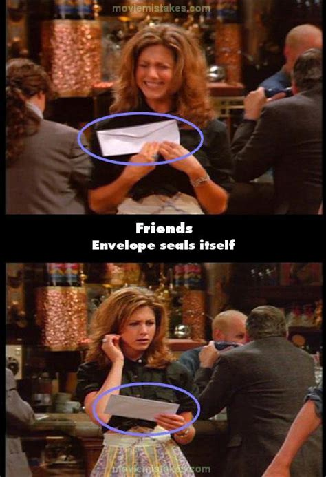 Friends (1994) TV mistake picture (ID 120826)