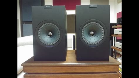 KEF Q350 review compared to KEF LS50, Klipsch RP-160M
