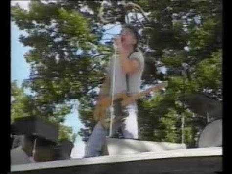 Bruce Springsteen Roundhay Park, Leeds 1985 - YouTube