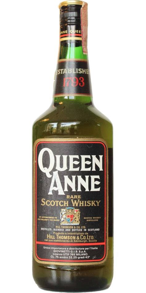Queen Anne Rare Scotch Whisky - Ratings and reviews