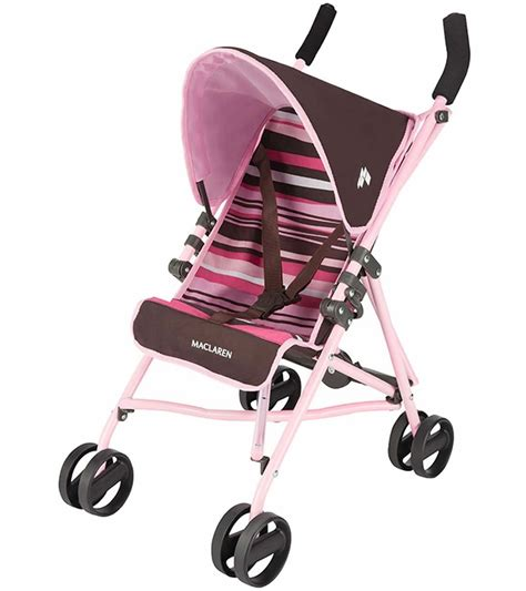 Maclaren Junior Quest Toy Doll Stroller - Sedona Power Pink