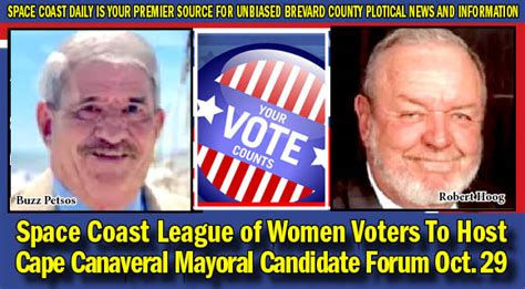 Space Coast League of Women Voters To Host Cape Canaveral
