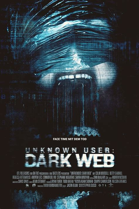 Unfriended Dark Web Film Poster – My Hot Posters