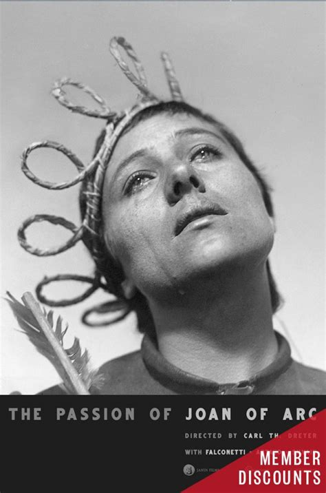 Austin Film Society THE PASSION OF JOAN OF ARC | Austin