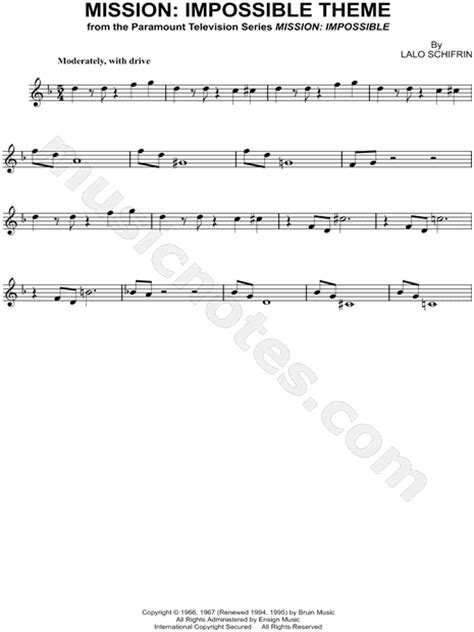 """""""Mission: Impossible Theme"""" from 'Mission: Impossible"""