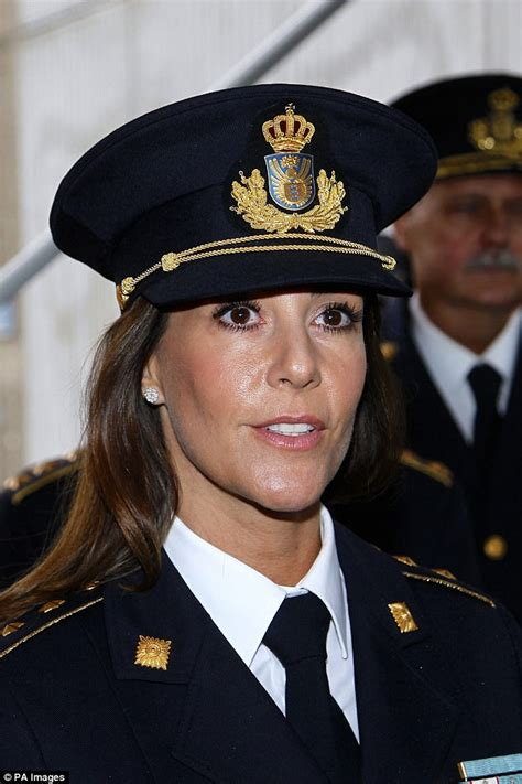 Princess Marie hangs up her tiara for an offical visit