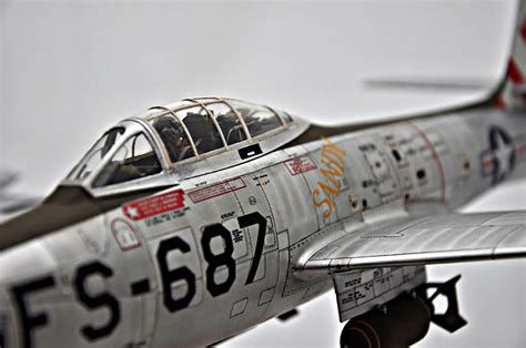 1/32 F-84E Thunderjet in Foil | Large Scale Planes