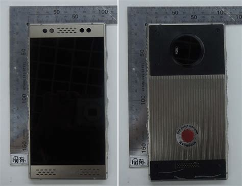 RED Hydrogen One poses for more photos as it passes