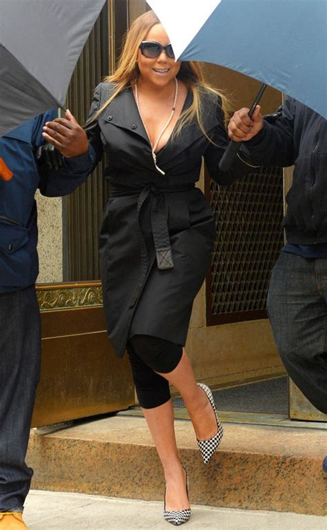 Mariah Carey Makes Her Statement Shoes Do All the Talking