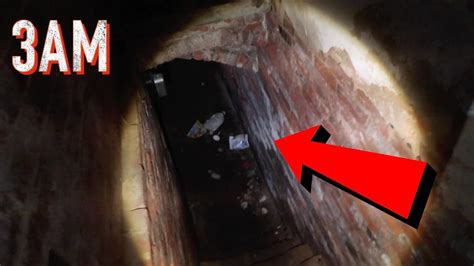 3AM OVERNIGHT CHALLENGE IN A HAUNTED BASEMENT! (SCARY