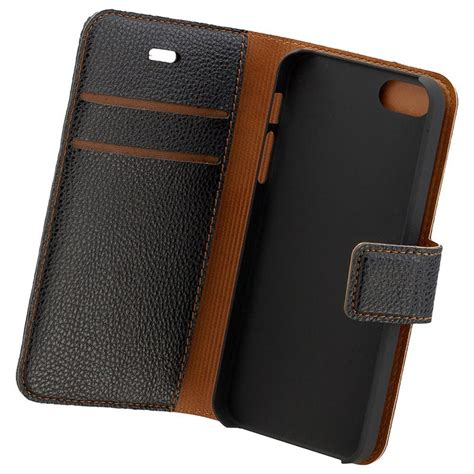 iPhone 5/5S/SE Commander Book & Cover Veske - Svart
