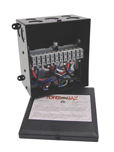 Powermax PMTS-50 50 Amp Transfer Switch | Inverters R Us