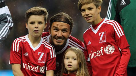David Beckham's Cute Daughter Is The Only One Of His Kids