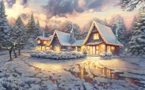 Wallpapers by THOMAS KINKADE - Wallpaper Abyss