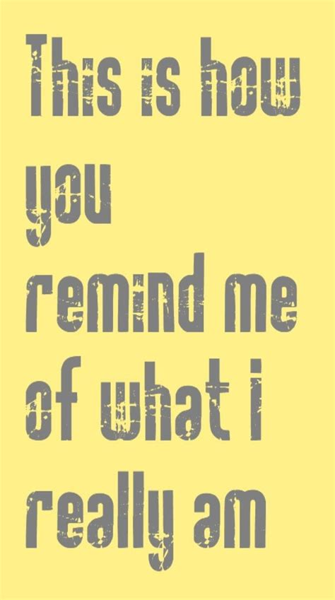 Nickelback - This is How You Remind Me - song lyrics