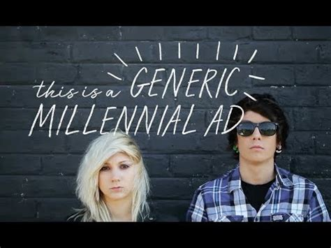 This Is a Generic Millennial Ad - YouTube