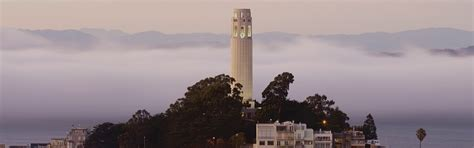 Coit Tower   San Francisco Attractions   Big Bus Tours