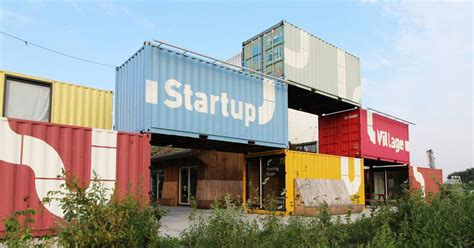 Shipping container coworking space opens in Amsterdam - Curbed