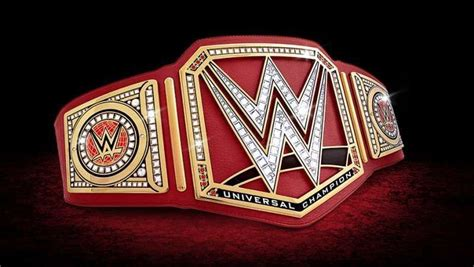 4 Old WWE title designs that should replace the Universal