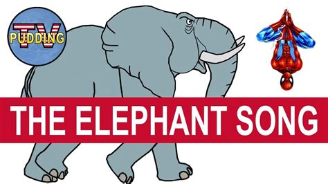 The Elephant Song - Children's songs with animation - YouTube