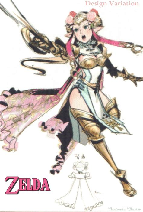 Another look at Hyrule Warriors concept art - Nintendo