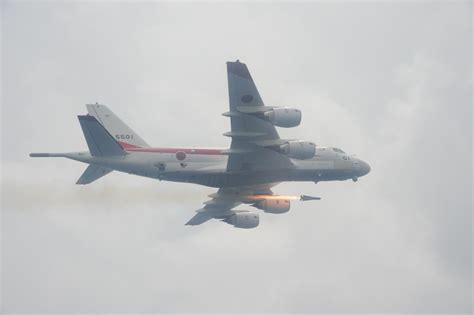 Japan's replacement for the P-3 Orion, the Kawasaki P-1